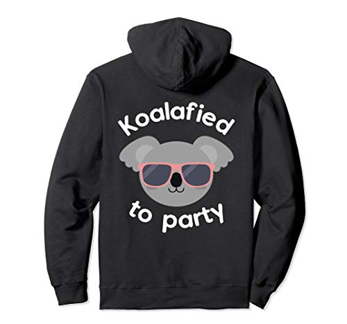 Koala Koalafied To Party Birthday Gift Pullover Hoodie