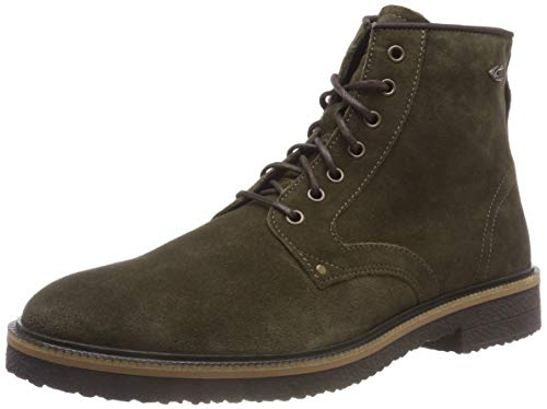 camel active Trade 12, Herren Kurzschaft Stiefel, Braun (Military 1), 46 EU (11 UK)