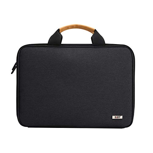 BUBM 13.5 Inch Laptop Shoulder Bag with Multiple Organizer Pockets,Protective Sleeve Compatible with MacBook Pro,MacBook Air,Surface Laptop