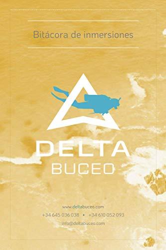 Bitácora de inmersiones Delta Buceo: Logbook de buceo (versión blanco y negro)
