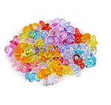 Shuny 200 Stück Mini-Schnuller,Mini Deko Schnuller Set,Tischdeko Konfetti Dekoration Confetti...