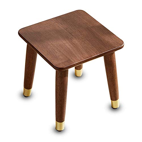 QXX Nordic Style Solid Wood Stool Children's Living Room Home Change Shoes Stool Movable Chair (Size : A)