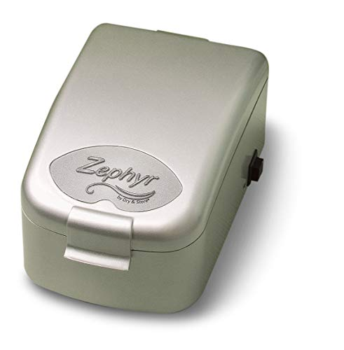 Zephyr by Dry & Store Hearing Instrument Dryer/Dehumidifier | for Care and Maintenance of Hearing Aids | Cochlear Processors | in-Ear Monitors