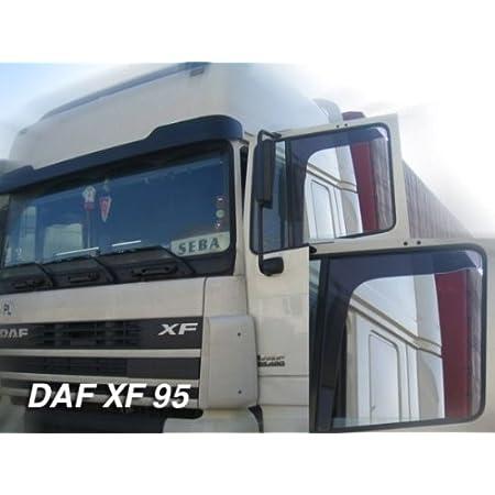 MIT FENSTERCHROMLEISTEN f/ür die Fahrer und Beifahrerseite-CLS0031737D passend f/ür Audi A6 1994-2.8 Vordere Windabweiser 1 Set 2.6 TDI 103 KW