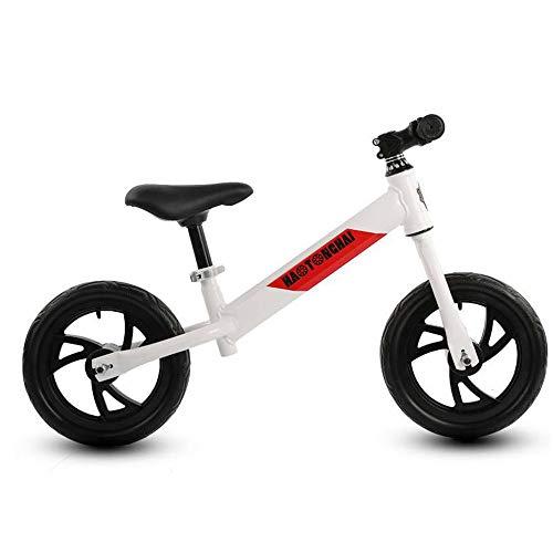 DGHJK Balance Bike Bici per Bambini 1-5 Anni Sella in Pelle Senza Pedale Camminata per Allenamento Bike per Bambini Balance Bikes Ragazzi Ragazze Regalo di Compleanno