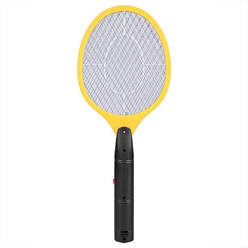 Unibell Cordless Battery Electric Power mosca zanzara Swatter Bug Zapper Racket Insetti Killer Giallo