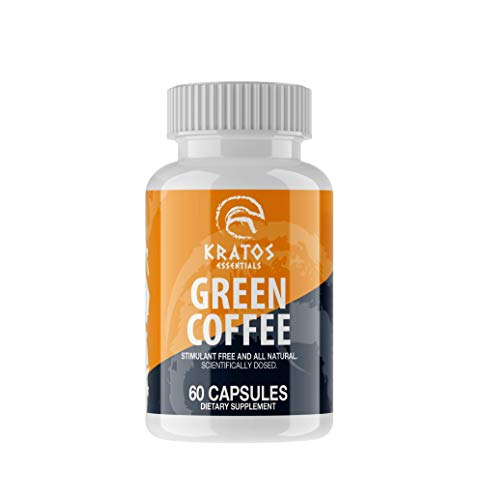 KRATOS ESSENTIALS Green Coffee Green Coffee Beans 60 Capsules