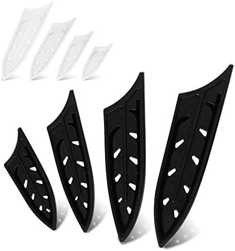 XYJ Knife Sheath Ceramic Knife Edge Guards 8 Pcs Set for 3 4 5 6 inch Knife Blade Protector product image