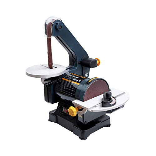 POWERTEC BD1502 Belt Disc Sander for Woodworking | 1 in. x 30 in. Belt Sander with 5 in. Sanding Disc