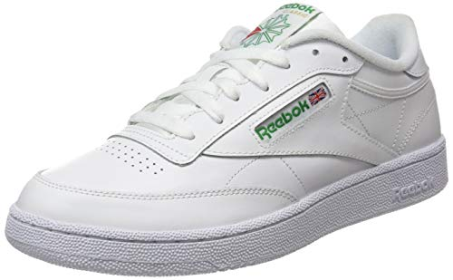 Reebok Club C 85, Zapatillas Hombre, Blanco Intense White Green 0, 50 EU