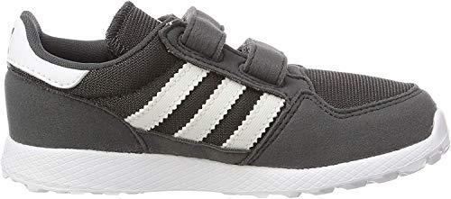 adidas Unisex Baby Forest Grove CF Gymnastikschuhe, Grau (Grey Six/Ftwr White), 23 EU