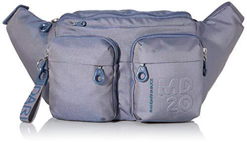 Mandarina Duck Md20 Minuteria, Borsa a Tracolla Donna, Blu (Blue Mirage), 44x23x9,5 cm (W x H x L)