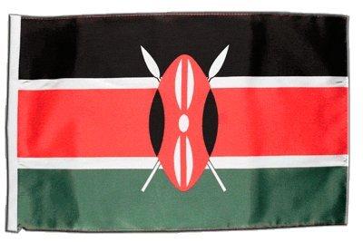 Fahne Flagge Kenia 30 x45 cm