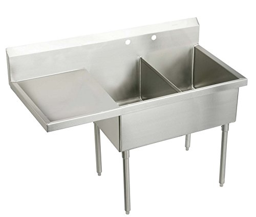 Cheapest Prices! Elkay WNSF8260L0 Commercial Sink, Lustrous Satin Finish