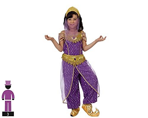 Atosa - 12183 - Costume - Déguisement De Fille Arabe - Taille 2