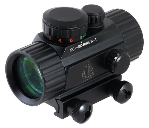 UTG 3.8″ ITA Red/Green CQB Dot Sight