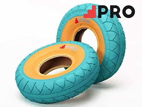 Calle Pro neumáticos - azul Gumwall con tubos/