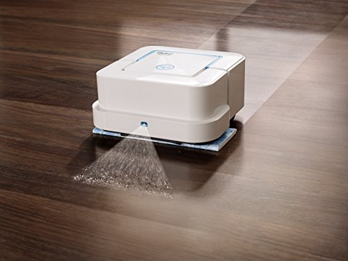 iRobot Braava jet 240 Superior Robot Mop - App enabled, Precision Jet Spray, vibrating cleaning...