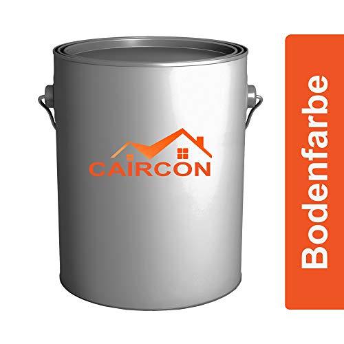 CAIRCON Bodenfarbe Betonfarbe | 5L Betongrau | Bodenbeschichtung seidenmatt