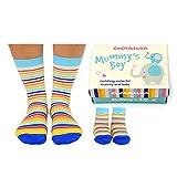 United Oddsocks Mummy's Boy Cucamelon Socken für Mutter & Sohn (2 Paar) - Strumpf
