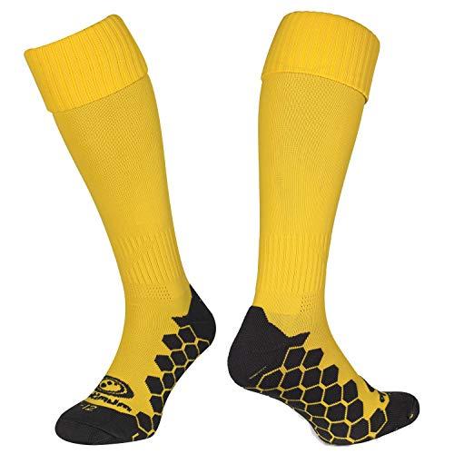 OPTIMUM Calcetines deportivos para hombres Classico, Amarillo, Senior (7-11)