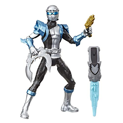 Hasbro Power Rangers Beast Morphers Silver Ranger