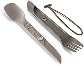 UCO Switch Spork 2-Piece Integrated Camping Utensil Set, Sand Stone, One Size (27008)