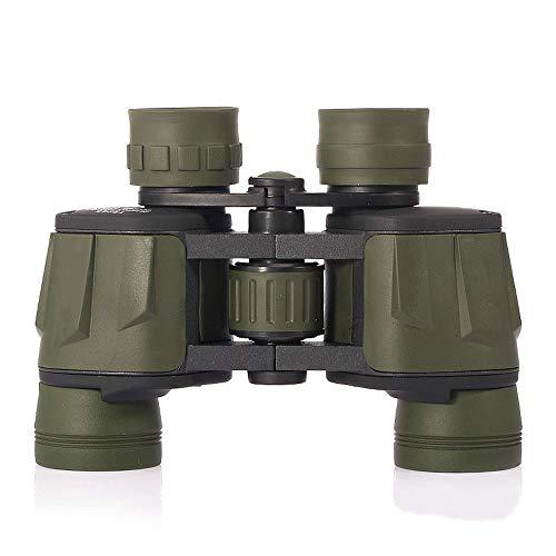 ZoSiP Compact Binoculars 8X40 Weitwinkel- Bladeskin Reise Bergsteigen High-Power HD Konzert Binoculars (Color : Black, Size : 18X15x5cm)