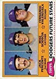 1981 Topps Baseball Rookie Card #302 Fernando Valenzuela. rookie card picture