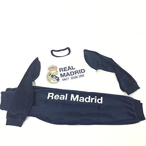 Pijama Real Madrid niño Invierno Terciopelo Tallas 6 a 16 (14)