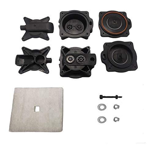 SSGLOVELIN Luftpumpe Membran Rebuild Reparatur gepasst for HIBLOW HP-100 PS-120 Klärgrube Luftpumpe 80PD000040 2ST