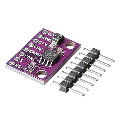 Sensor & Detektormodul TJA1051 High-Speed-Low-Power-CAN-Transceiver für Arduino – Produkte, die mit offiziellen Arduino-Boards funktionieren, 10 Stück