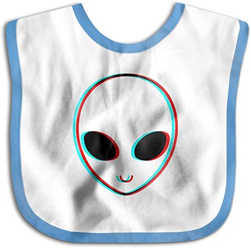 Trippy Alien Toalla de saliva para bebés recién nacidos, para bebés y...