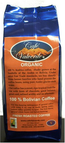 10 oz. Artisan Roasted (Euro -Dark) Primera Extra Organic Bolivian Coffee - Whole Bean AAA' Cafe Valverde'