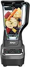 Ninja BL610 Professional 72 Oz Countertop Blender with 1000-Watt Base and Total Crushing Technology for Smoothies, Ice and Frozen Fruit, Black, 9.5 in L x 7.5 in W x 17 in H
