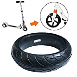 MAYiT Scooter Tire, Thickened Solid Tire for Ninebot Es1 Es2 E-Bike Electric Skateboard, Front Rear Anti-Explosion Tire Universal