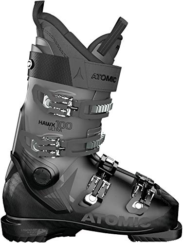 ATOMIC HAWX Ultra 100, Botas de esquí Unisex Adulto, Black/Anthracite, 39 EU