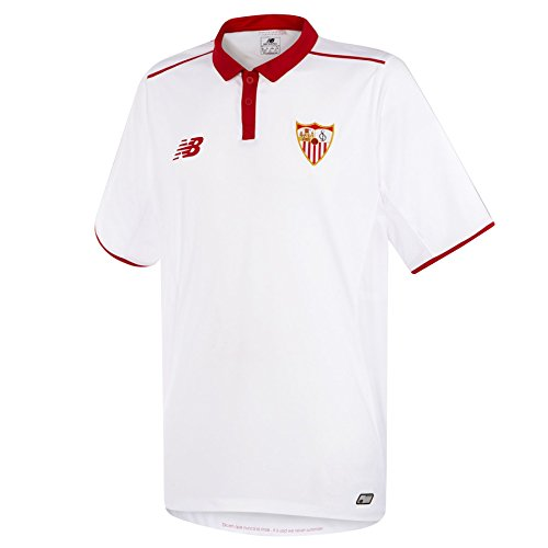 New Balance - Sevilla FC T Shirt S/S Home, Color White, Talla L