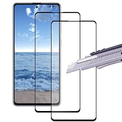 2 Pcs Protector de Pantalla Vidrio Templado para Xiaomi Mi 11/Mi 11 Pro/11 Ultra, Templado Membrana de Cristal para Xiaomi Mi 11/Mi 11 Pro/11 Ultra - 9H Dureza - Sin Burbujas - Anti-Huella