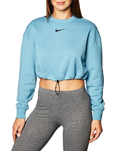 NIKE Sportswear Swoosh, Camiseta de Manga Larga, Unisex Adulto, Azul, LTT