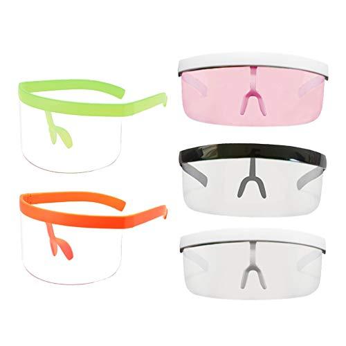 Colcolo 5PCS Unisex Gafas de Sol Gafas de Protección UV Lente Deportiva Anti-UV HD