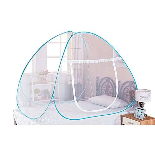 ANDE Moskitonetz Fliegengitter Insektennetz Spitze Betthimmel Moskitonetzen Rund Bed Canopy für Einzelbett oder Doppelbetten (100 x 190 cm)
