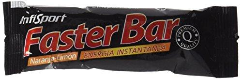 Infisport Faster Bar, Sabor Naranja y...