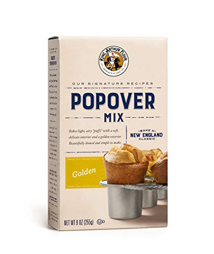 King Arthur Traditional Popover Mix, 9 Ounce (Pack of 6)