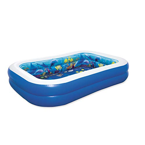 Bestway 54177 Undersea Adventure Pool Planschbecken 262x175x51cm