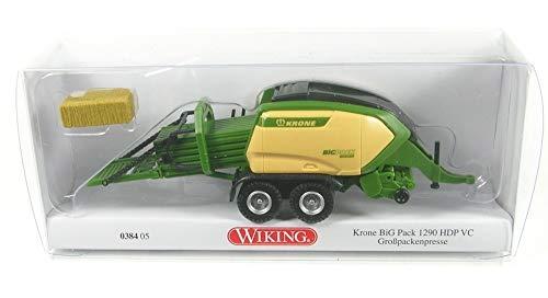 Wiking 038405 Krone Big Pack 1290 HDP VC Großpackenpresse - Kein Spielzeug!! Miniaturmodell/Sammlerartikel !!