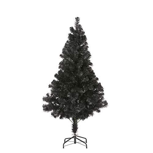 【BLKP】 パール金属 クリスマスツリー ヌードツリー ブラック 北欧 収納便利 組立簡単 高密度 キャプテンスタッグ(CAPTAIN STAG) 150cm BLKP 黒 UP-3507