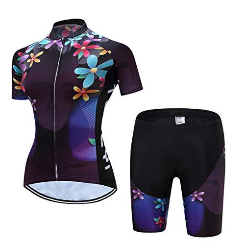 X-Labor - Juego de maillot de ciclismo para mujer, secado rápido, camiseta...