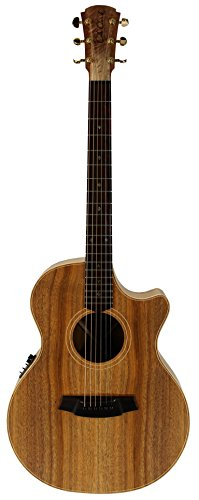 Cole Clark ángel 2 2EC-blbl-F Grand Auditorium Guitarra acústica/eléctrica Natural