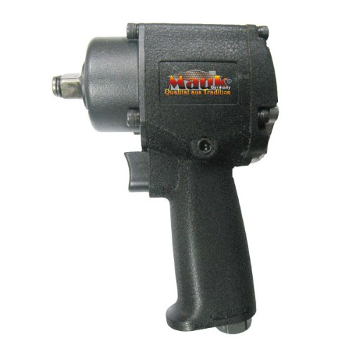 Mauk 1/2 Zoll Profi Druckluft Schlagschrauber | 610 Nm 1/4 Zoll Anschluss 10.000 U/min - Reifenwechsel